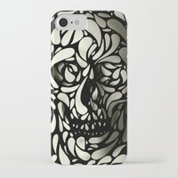 purple iPhone & iPod Cases featuring Skull by Ali GULEC