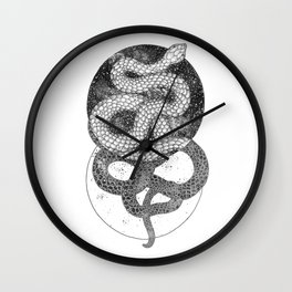 Good and Evil Wall Clock