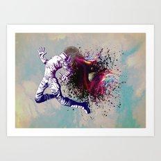 AstroExponential Art Print