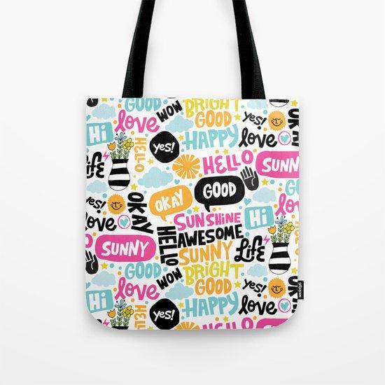 Sunshine & happiness Tote Bag