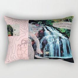 inside my head Rectangular Pillow