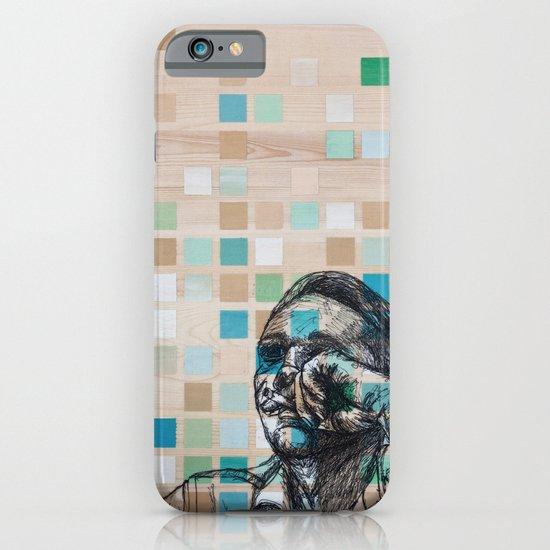 Checker Face iPhone & iPod Case