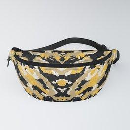 Metallic Camo - Stylish Camouflage Gold Pattern Fanny Pack