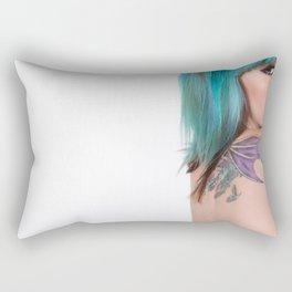 A Blank Space  Rectangular Pillow