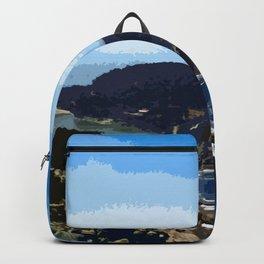 Cies Islands - Spain Backpack