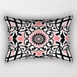 Tudor Rose Rectangular Pillow