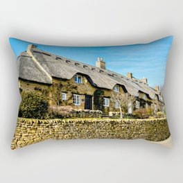 Cotswold Cottages  Rectangular Pillow