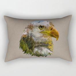 The American Bald Eagle Rectangular Pillow