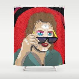 All Outta Bubblegum Shower Curtain