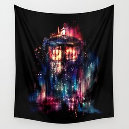 All of Time and Space Wall Tapestry