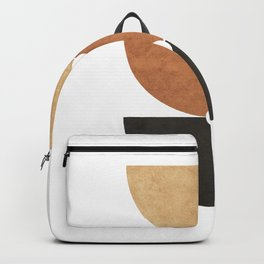 A Game of Halves - Minimal Geometric Abstract Backpack