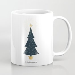 Christmas Tree Print Coffee Mug