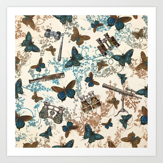 Looking for my butterfly Art Print