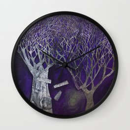 One night Wall Clock