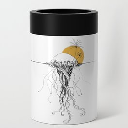The Island - Minimal line Can Cooler