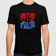 future failure hand lettering Mens Fitted Tee MEDIUM Black
