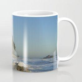 Sea Stack on Ruby Beach in Washington State Coffee Mug