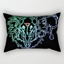 Metal! Rectangular Pillow