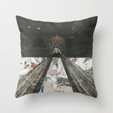Everything I Need Is Where I'm Going Throw Pillow