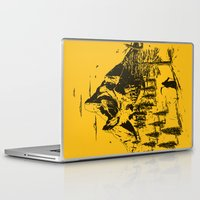 home sweet home Laptop & iPad Skins featuring Home! Sweet Home! by nicebleed