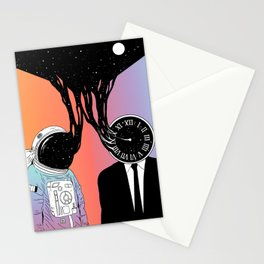 A Portrait of Space and Time ( A Study of Existence) Stationery Cards