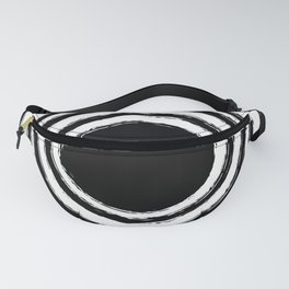 Painted Circles Fanny Pack