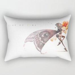 kiss of fire Rectangular Pillow