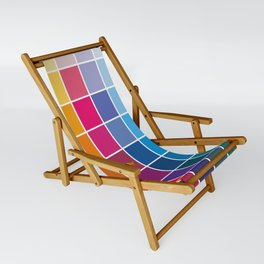 Colorful Soul - All colors together Sling Chair