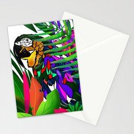 Parot digital illustration Stationery Cards