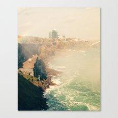 View from Horseshoe Falls, Niagara Falls, Ontario Fine Art Photography Print Canvas Print
