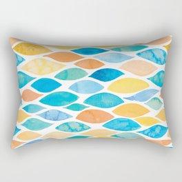 Watercolour Ocean | Desert Palette Rectangular Pillow