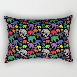 Nintendo 64 Flock of Controllers Rectangular Pillow