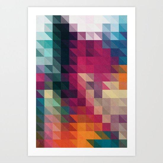 The Future 01. Art Print