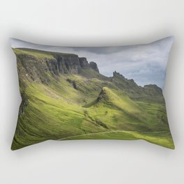 Mesmerized by the Quiraing Rectangular Pillow