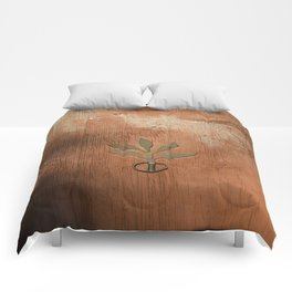 Leaf door knocker  Comforters