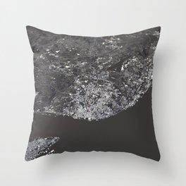 Lisbon City Map I Throw Pillow