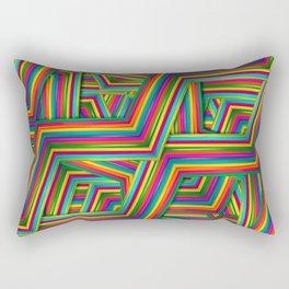 Therapist Pattern Rectangular Pillow