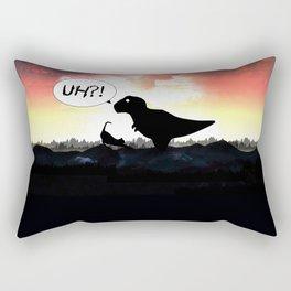 Time Paradox Rectangular Pillow