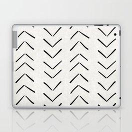 Mud Cloth Big Arrows in Cream Laptop & iPad Skin