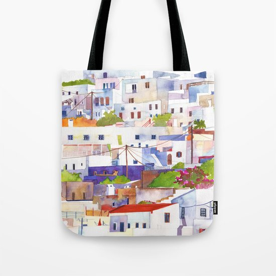 Lindos Tote Bag