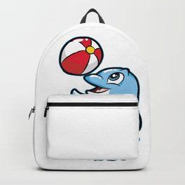 HAPPY DOLPHIN Water Ball Gift Present Son Daughter Backpack