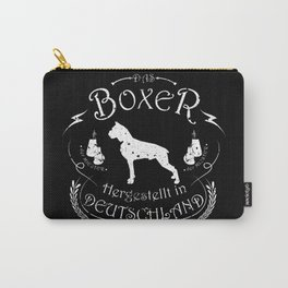 Boxer Black Carry-All Pouch