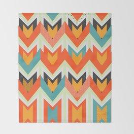 Shapes of joy Throw Blanket