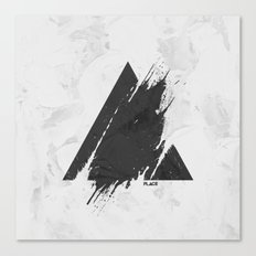 PLACE Triangle Canvas Print