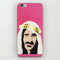 zappa iPhone & iPod Skins featuring ZAPPA! by f_e_l_i_x_x