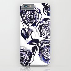 Inky Roses iPhone 6s Slim Case