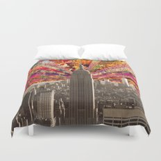 BLOOMING NY Duvet Cover