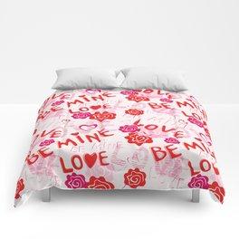 BE MINE LOVE  Comforters