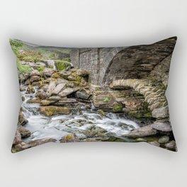Old Packhorse Bridge  Rectangular Pillow