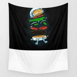 The Astronaut Burger Wall Tapestry